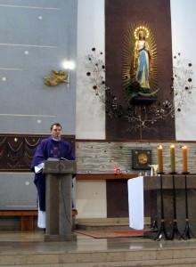 Ks. Łukasz Mazurek MIC Sanktuarium MB z Lourdes, Warszawa
